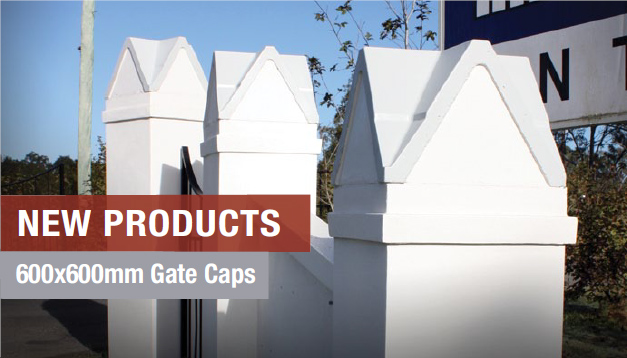 New Masonry Products - Gate Caps